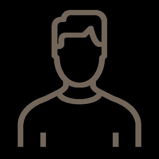 hombre icono